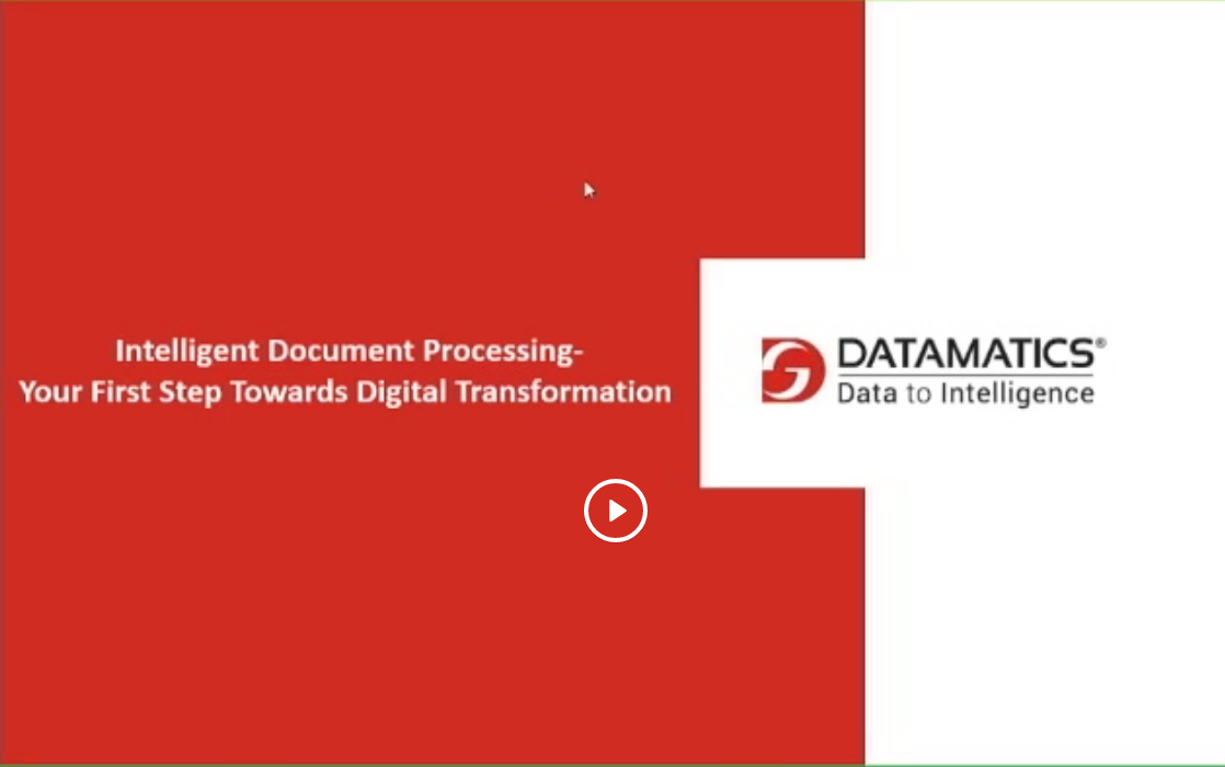 Use Case_Intelligent Document Processing - Your First Step Towards Digital Transformation