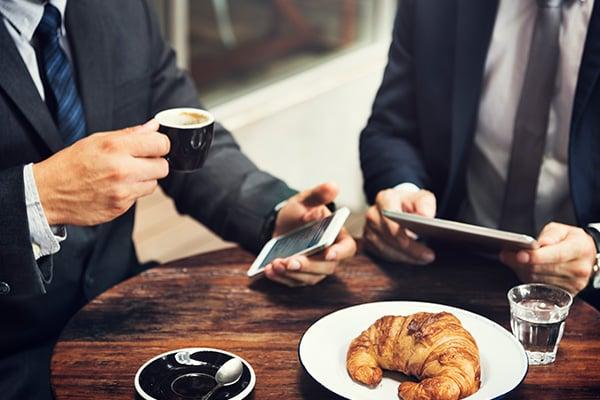 businessmen-break-coffee-digital-devices-concept